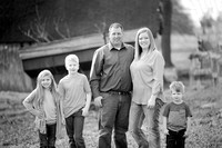 darnell black and white family photography session missouri-1