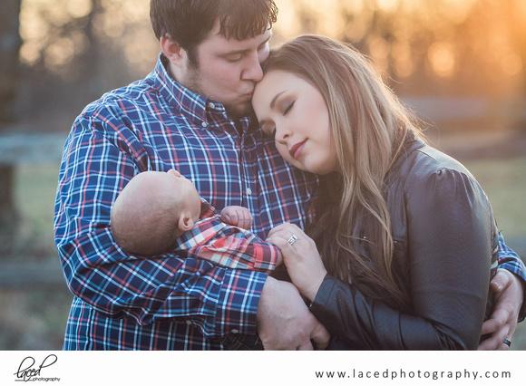 Laced Photography, Family Portrait, Newborn Photography, Springfield, Bolivar, Buffalo, Missouri